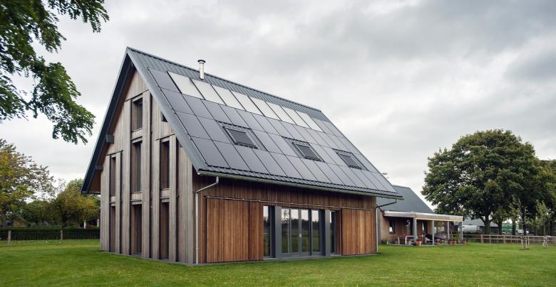 Zon-Energiehuis - Zuidkant